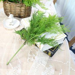 지피식물 그린테리어 고급조화 아스파라거스 부쉬