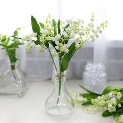 지피식물 그린테리어 고급조화 부케 은방울꽃 부쉬