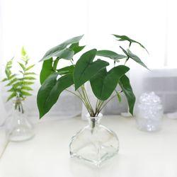 지피식물 그린테리어 고급조화 알로카시아 미니부쉬