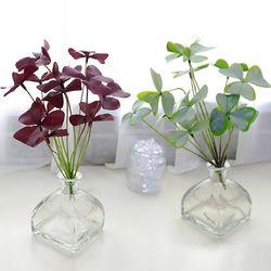 지피식물 그린테리어 고급조화 부쉬 사랑초 2color
