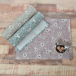 로라 방수식탁매트(핑크-가로50cm)