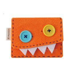 몬스터 지갑 만들기 DIY - 1인 세트