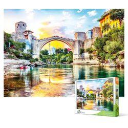 1000피스 직소퍼즐 - 모스타르 옛 시가지의 다리