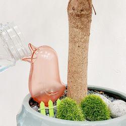 화분 새 자동 물주기 물공급기