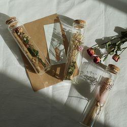 유리병 꽃 편지 시즌2 편지지 2type