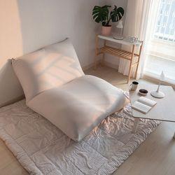 침대 소파를 하나로 왕쿠션 빈백