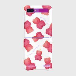 Little fire covy pattern-pink(Z플립-하드)