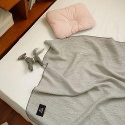 인견 와플 아기 블랭킷 신생아 담요 낮잠이불 75x100