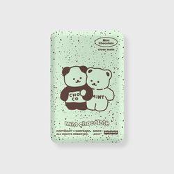 Cookie cream-mint(무선충전보조배터리)