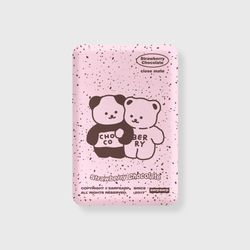 Cookie cream-pink(무선충전보조배터리)