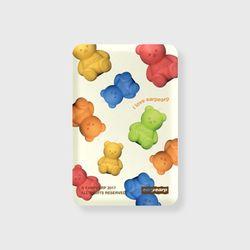 Little fire covy pattern-colorful(무선충전보조배터리)