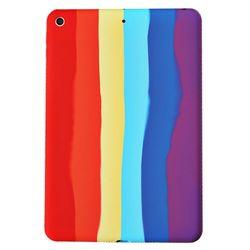 아이패드5 9.7 레인보우 실리콘 태블릿 케이스 T071