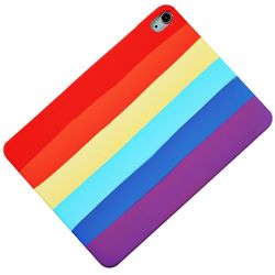 아이패드에어3 레인보우 실리콘 태블릿 케이스 T071