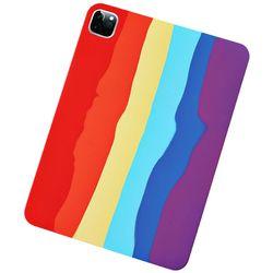 아이패드미니4 레인보우 실리콘 태블릿 케이스 T071