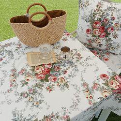 앙티브 로즈 2인용 테이블보 식탁보 100x130 3colors