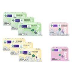 유기농본 순면 생리대 중형3대형3+팬티1롱팬티1 선택가능