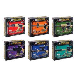 2000 부품 조립 4D 보급 프라모델 권총 만들기