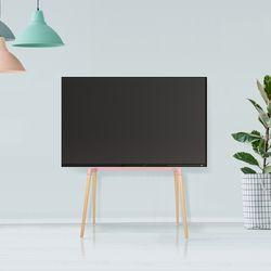 [핑크] tv스탠드 거치대 Edge4 삼성 LG 호환 받침대 벽걸이