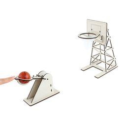 교육용 목재 입체퍼즐 - 영플래닛 탁구공 농구게임