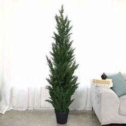 인조나무 조화화분 인조목 주니프러스 향나무 180cm