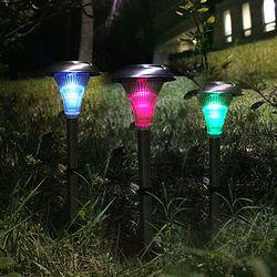 LED 태양광 정원등 야외 조명 태양열 잔디등 가로등