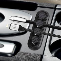 선정리 콘센트 USB 홀더 마그네틱선정리클립2개세트