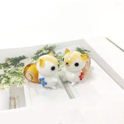 꽃 다람쥐 커플