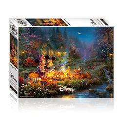 500피스 미키와 미니 캠프파이어 디즈니 직소퍼즐