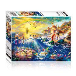 500피스 인어공주 사랑의 속삭임 디즈니 직소퍼즐