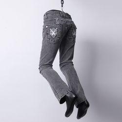 그린바나나 남자 데님 진 청바지 블랙 beast snow jeans