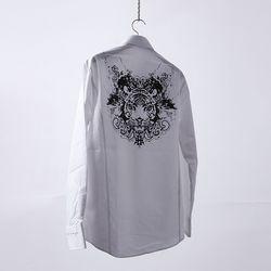 그린바나나 남자셔츠 화이트 남방 beast white shirts