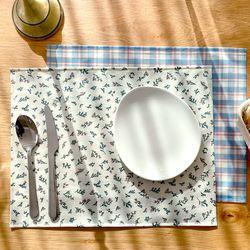 방수 테이블 매트 식탁 매트 PVC매트 얼그레이 30X40