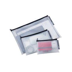 [TROIKA] ZIPPER BAGS 다용도 지퍼백 세트 (TRV30BK)