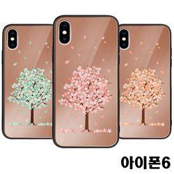 아이폰6 벚꽃 미러범퍼케이스