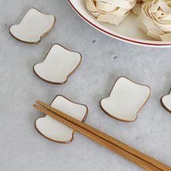 식빵 장식 5종 세트 장식 겸 수저받침