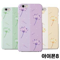 아이폰8 연꽃 슬림 하드케이스