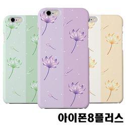 아이폰8플러스 연꽃 슬림 하드케이스