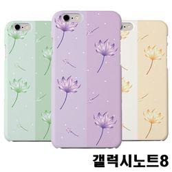갤럭시노트8 N950 연꽃 슬림 하드케이스