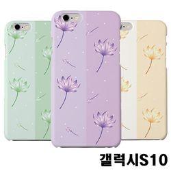 갤럭시S10 G973 연꽃 슬림 하드케이스