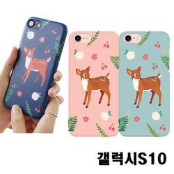 갤럭시S10 G973 꽃사슴 3D하드케이스