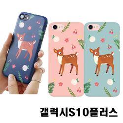 갤럭시S10플러스 G975 꽃사슴 3D하드케이스