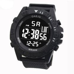 디지털 GASJQ 리버스 Black 스포츠손목시계 와치1002