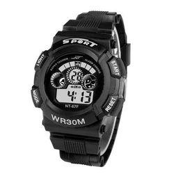 1Plus1 디지털 NT Black 스포츠 손목시계 와치56F