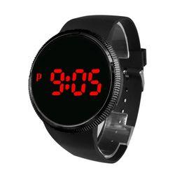 1Plus1 디지털 BAT 스포츠 손목시계 와치 Bubble Red