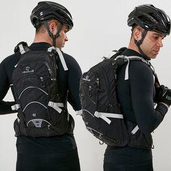 디스트로 대용량18L 방수 전문 자전거배낭 라이딩백팩