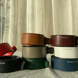 [이니셜 커스텀] Leather strap - 11color