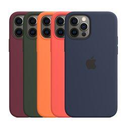 [Apple] 애플 정품 아이폰12  아이폰12 프로 실리콘 케이스