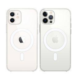 [Apple] 애플 정품 아이폰12 미니 Magsafe 맥세이프 투명 케이스