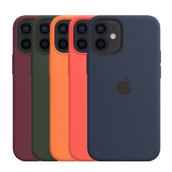 [Apple] 애플 정품 아이폰12 미니 실리콘 케이스