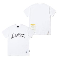 TYPO STANDARD FIT T-SHIRTS WHITE